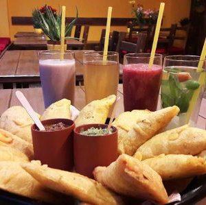 Lunitas Empanadas Restaurant gemütliche Atmosphäre