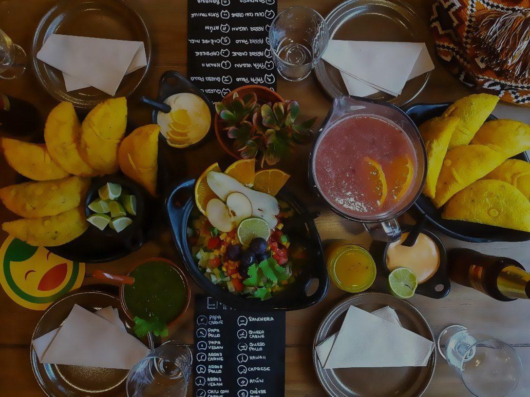Lunitas kolumbianische Empanadas